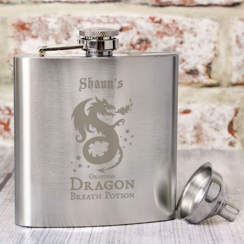 Dragon Breath Potion Hip Flask